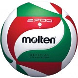 MOLTEN Bola Voli Size 4 [V4M2700] - White/Red/Green